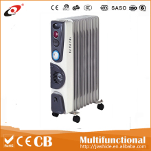 Electric oil heater 7/9/11/13 fins/oil filled radiator with turbo fan