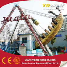 Playground thrilling amusement rides for adults and kiddie pirate ship for sale