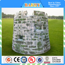 Inflatable paintball bunkers/ paintball marker
