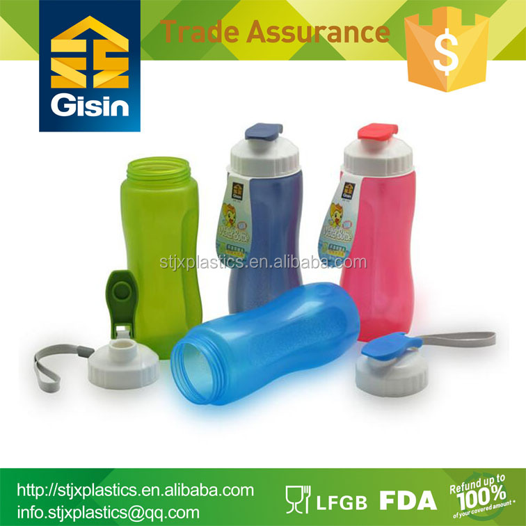 500ml cheap custom logo plastic shaker bottle