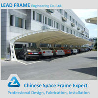 Attractive Appearance Steel Galvanized Car Parking Prefabricated Sheds
