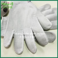 High quality three pieces of Stainless steel safety gloves working gloves,personal protective equipment safety gloves