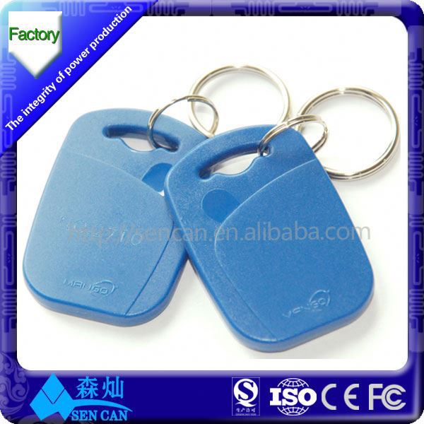 hf dipole antenna mini rfid glass tag /active rfid tag 13.56mhz