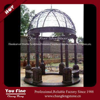 Fashion Classic Modern Garden Wrought Iron Gazebo