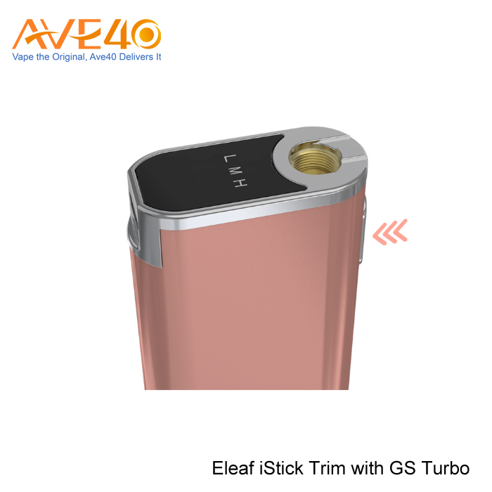 2017 online shopping usa electronic cigarette Eleaf iStick Trim With GS Turbo Kit Vapor Starter Kits
