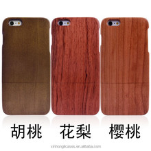 Wholesale 2 in 1 Detachable Nature Wood Case For iPhone 6 plus