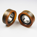 Factory Sale High Quality and high Hard Plastic Nylon Wheel Bearing for belt pully
