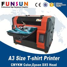 Funsun pvc printer gift card printing machine