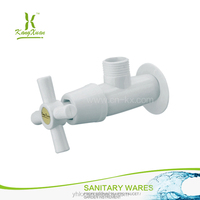 Hot sell silver plastic angle valve showerroom angle cock