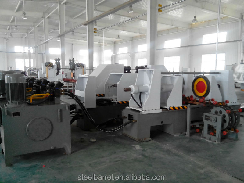high speed steel drum/barrel making line