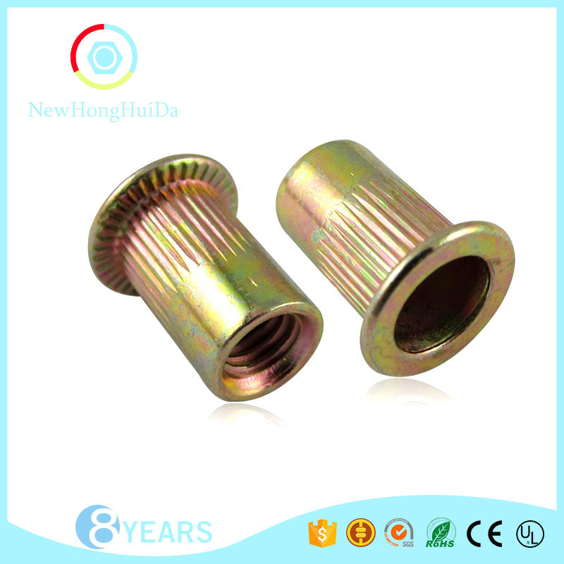 Hot sale internal thread closed end riveted nut insert nut
