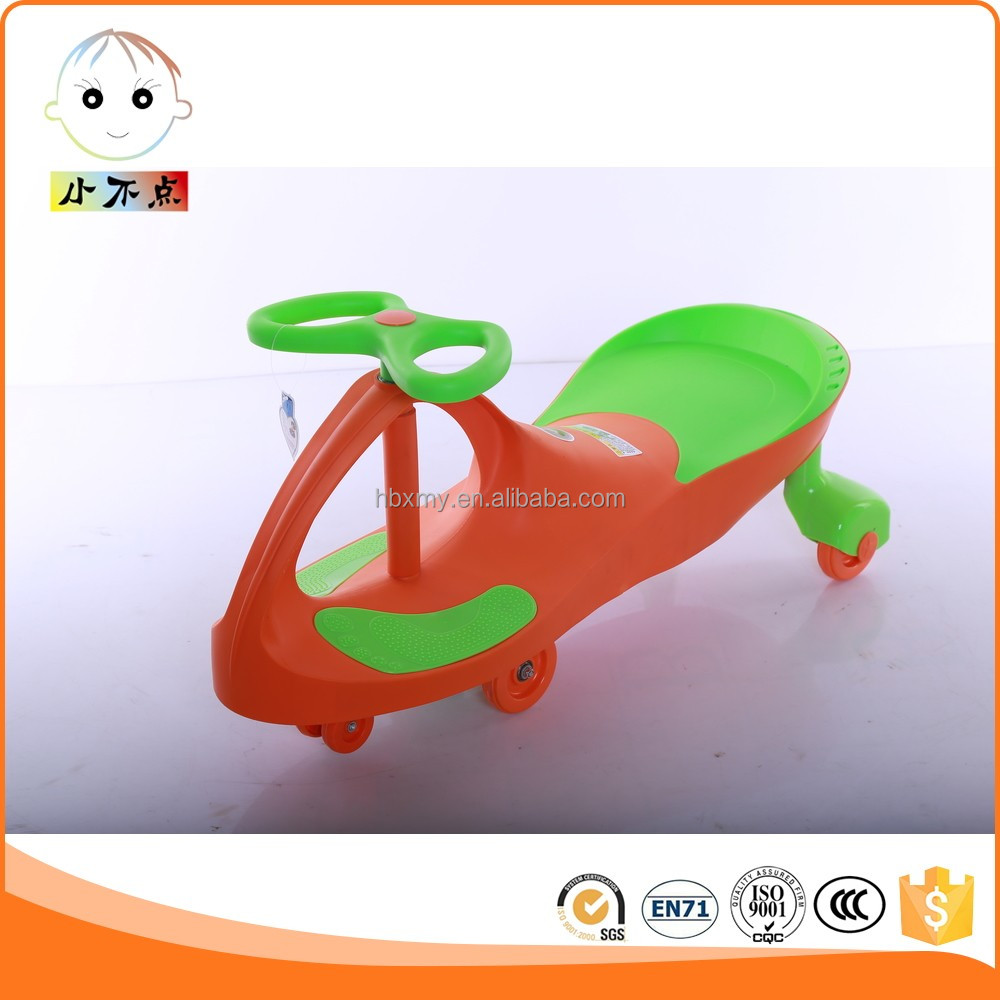 baby sport car kids swing car pu wheels/simple swing car/ride on car