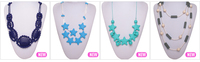 Baby Chew Silicone Bead Necklace/Food-safe Teething Jewelry Silicone Product Supplier China