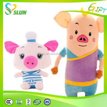 Cute Stuffed Plush Squeeze Pig Toys With Funny Sounds