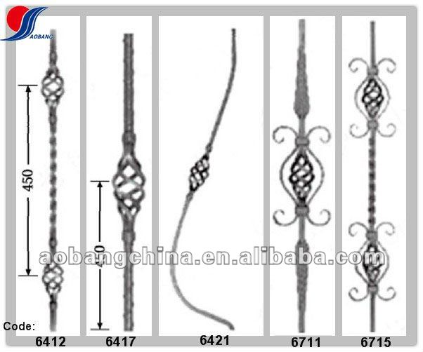 Stair Wrought Iron Railing, Stair Wrought Iron Railing Suppliers And  Manufacturers At Alibaba.com