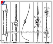 forged wrought iron stair railing parts