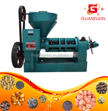automatic commercial palm/ sunflower/ hemp seed /coconut /peanut /mustard oil cold screw oil press machine