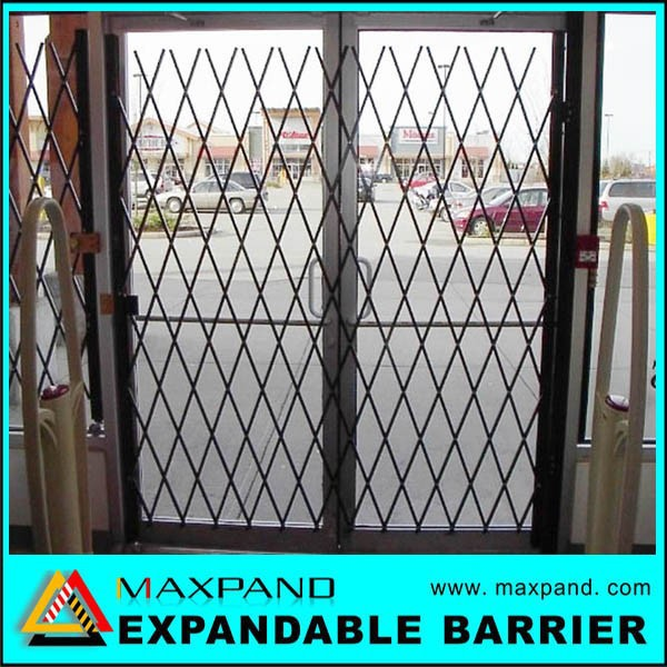 Unique Easy Assembly Folding Metal Security Gates
