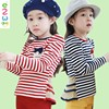Thin Long Sleeve Skin Tight Striped Girl T Shirt Of Alibaba Express