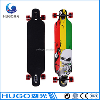 good quality 9 ply maple skateboard with aluminium truck