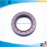stainless steel spring inserted double lips TC oil seal