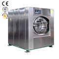High spin commercial laundry washing machine