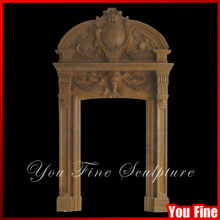 Polished Classical Decorative Stone Concrete Door Frame