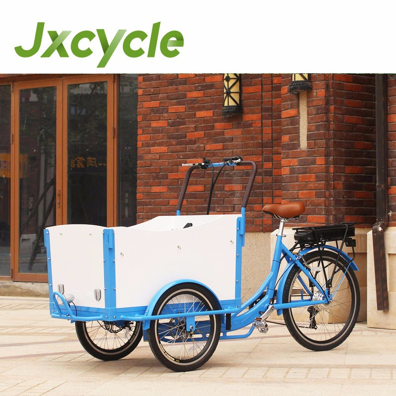 twin tricycle Green Cycles cargo Trike