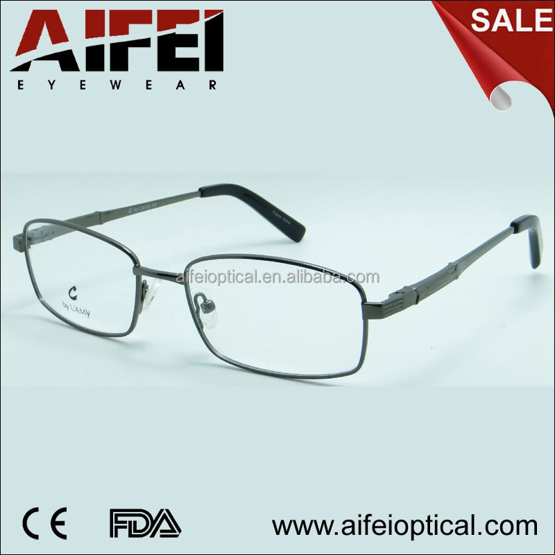 Classic stainless steel optical frame unisex wholesale eyeglass frames