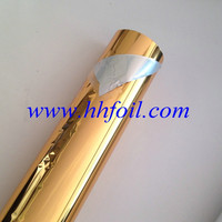 Gold and silver foil for paper and plastics