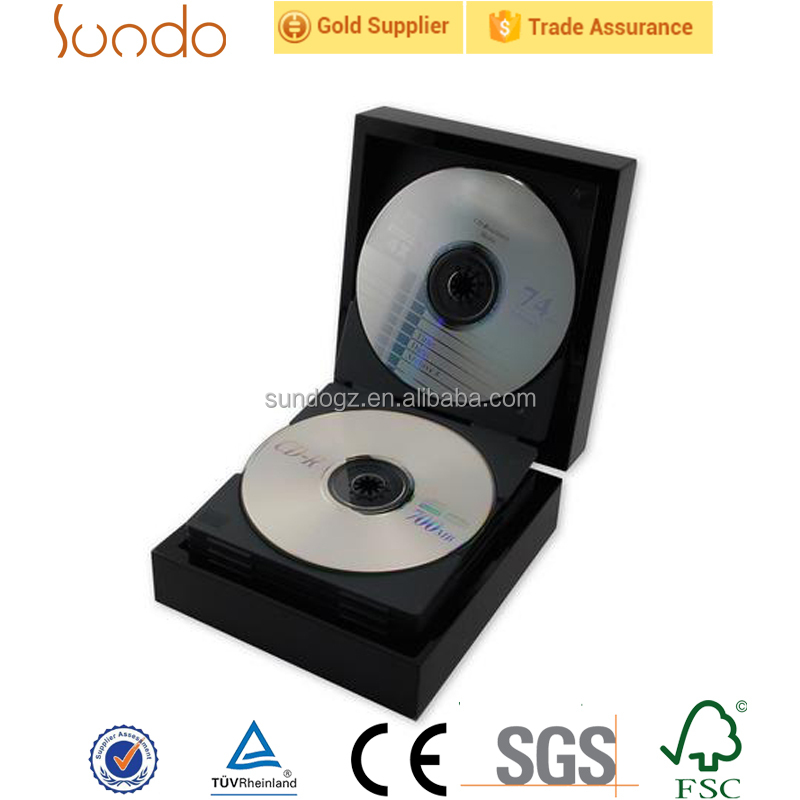 cheap wooden CD packing box