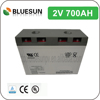 Bluesun 8v lead acid battery 2v 700ah with ISO CE ROHS UL Certificate