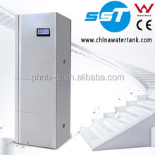 compact solar water heating system