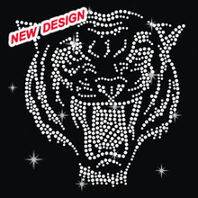 New Custom 2015 Fashion half round studs Tiger crystal stone for dresses M 2 (43)