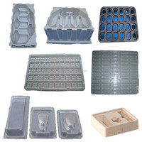 custom black plastic blister packaging plant tray