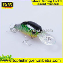 55mm 11g Hard Plastic Lure Bait Crank musky fishing lures