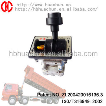 dump truck control valves hydraulic hand control valve combine controlling valve
