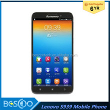 Lenovo S939 6inch Big Touch Screen MTK6592 Octa Core 1GB 8GB 8.0MP Camera Dual SIM IPS HD Mobile Phone china alibaba