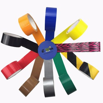 Customize aluminium water resistant duct tape decorative strips of air conditioner colored custom printed pvc cloth duct tape