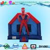 Customized spiderman inflatable bounce house used party jumpers for kids and adult