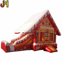 Inflatable Boucer Combo 6m Long Inflatable Christmas Castle Slide
