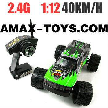 et-312969 2.4G rc truck 1:12 Scale Brushed Electric Powered Remote Control Monster Truck