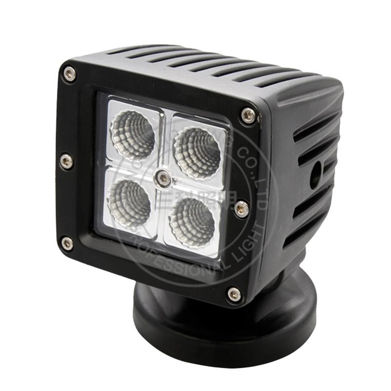 rv parts 16w square work light led driving light SC-1416