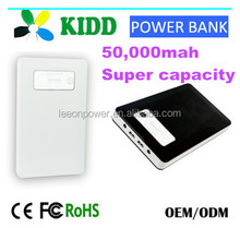 LEEON huge capacity 50000mah on the Indonesia market multi function mobile and laptop power banks