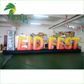 Advertising Outdoor Inflatable Led Illuminated Letter, Lighting Air Decorative Balloons, Giant Inflatable letters for Events