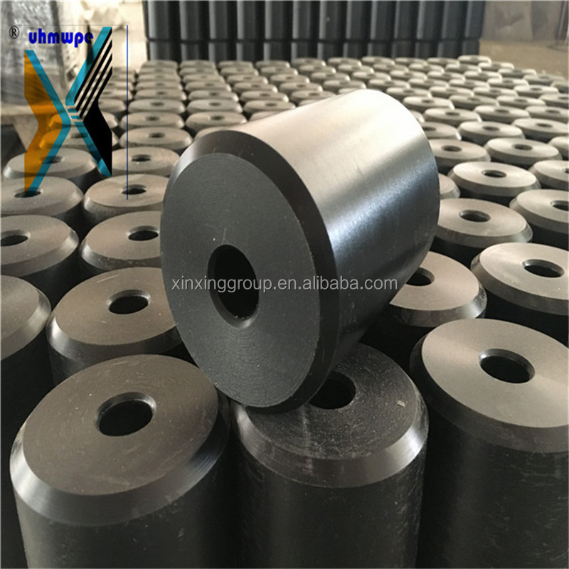 Customize Any Size Black White UHMWPE Pulley Roller <strong>Manufacturer</strong>