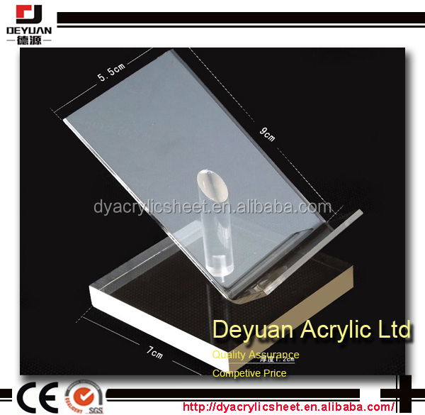 Custom acrylic display stand for mobile phone jewelry cosmetic etc
