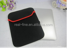 "Sale promotion Black Neoprene Notebook Laptop Sleeve Bag Case for 10"" inch Ebook Tablet PC Dropship Free Shipping"