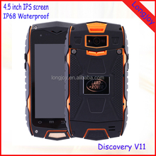 "Low Price China Mobile Phone 4"" Waterproof Dustproof Smart Phone Dual SIM GPS WiFi"