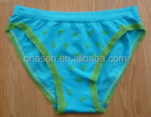 pretty 90% nylon panties ladies seamless panties adult unisex brief